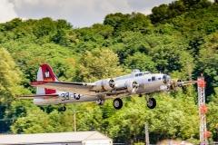 B-17 Aluminum Overcast at Boeing Field