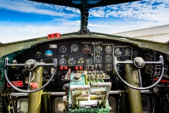 B-17 Sentimental Journey Cockpit
