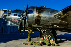 B-17 Sentimental Journey and Arizona Ground Crew