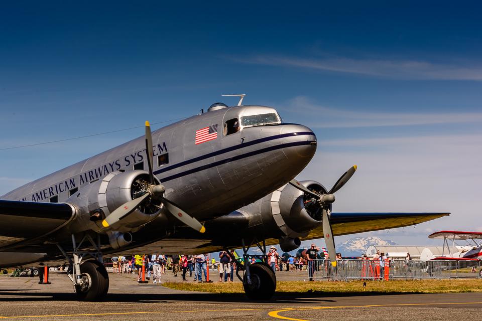 Historic Flight Foundation's Douglass DC-3