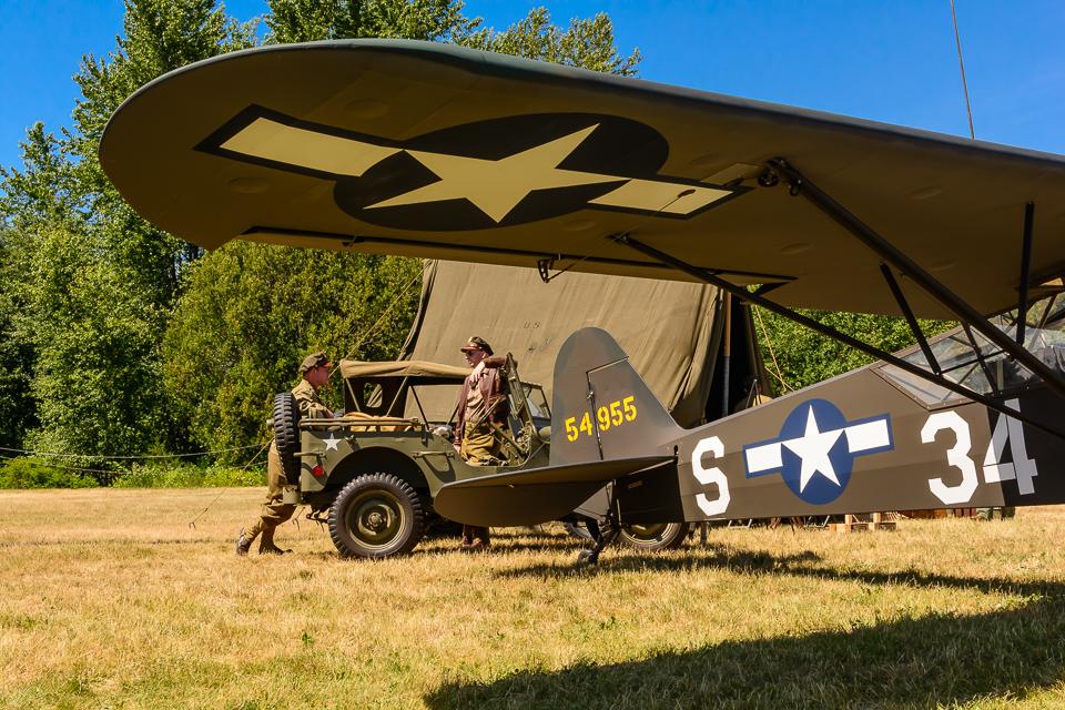Historic Flight Foundation's Piper L-4J Grasshopper