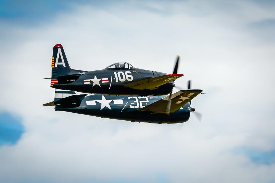 Grumman F-6F Hellcat & F-8F Bearcat