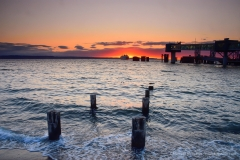 Edmonds Ferry Dock Sunset