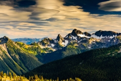 View From Sunrise at Mount Rainier