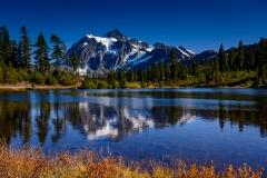 Mount Shuksan & Picture Lake