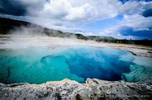 Photographing Yellowstone's Thermal Features – Sapphire Pool
