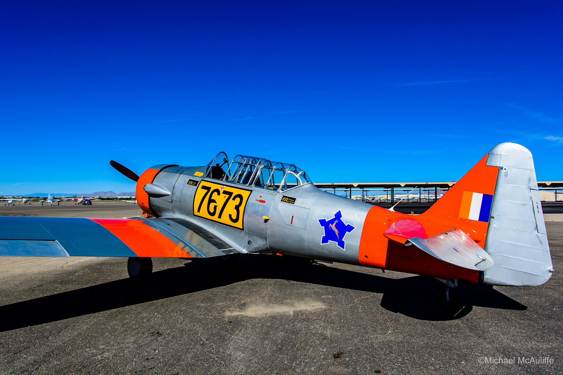 AT-6 In South African Air Force Colors
