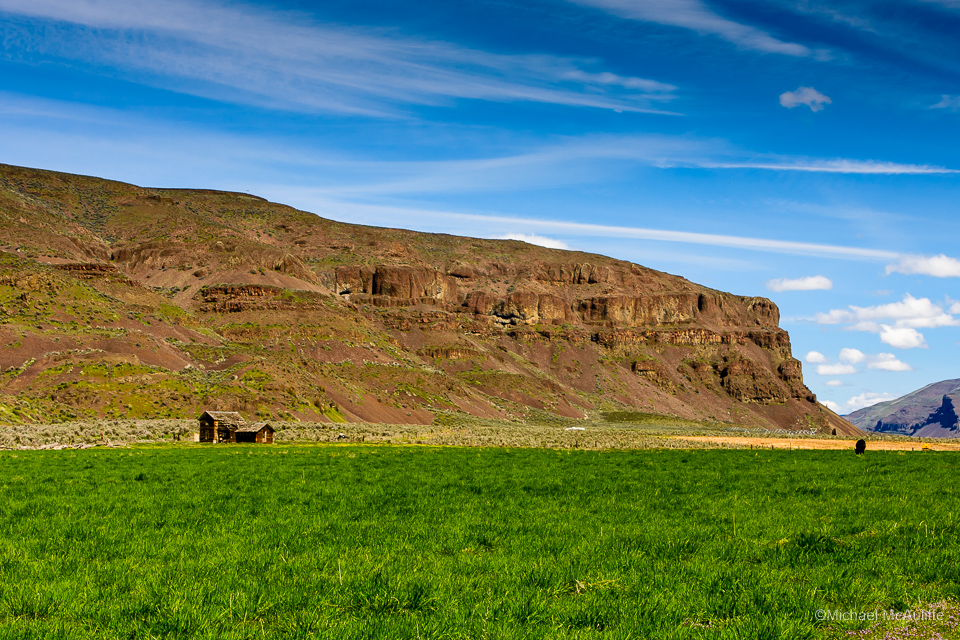 Moses Coulee near Quincy, Washington.