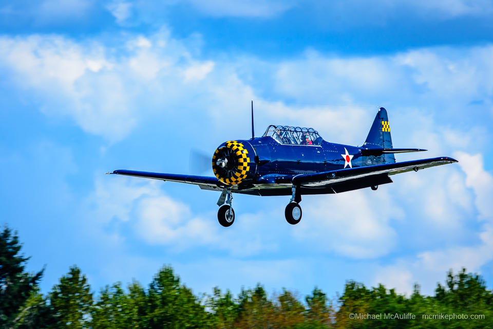 The Historic Flight Foundation's North American Aviation AT-6 Texan