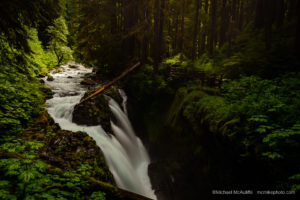 Photographing Sol Duc Falls